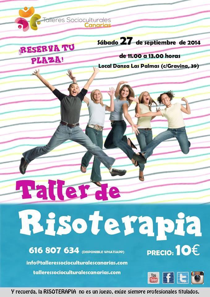 Taller de Risoterapia en Las Palmas este Septiembre,¡volvemos a la carga!