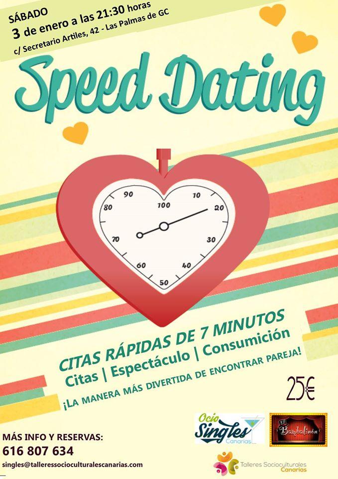 Speed Dating en Las Palmas: Nuevo evento para singles 3 de Enero de 2015