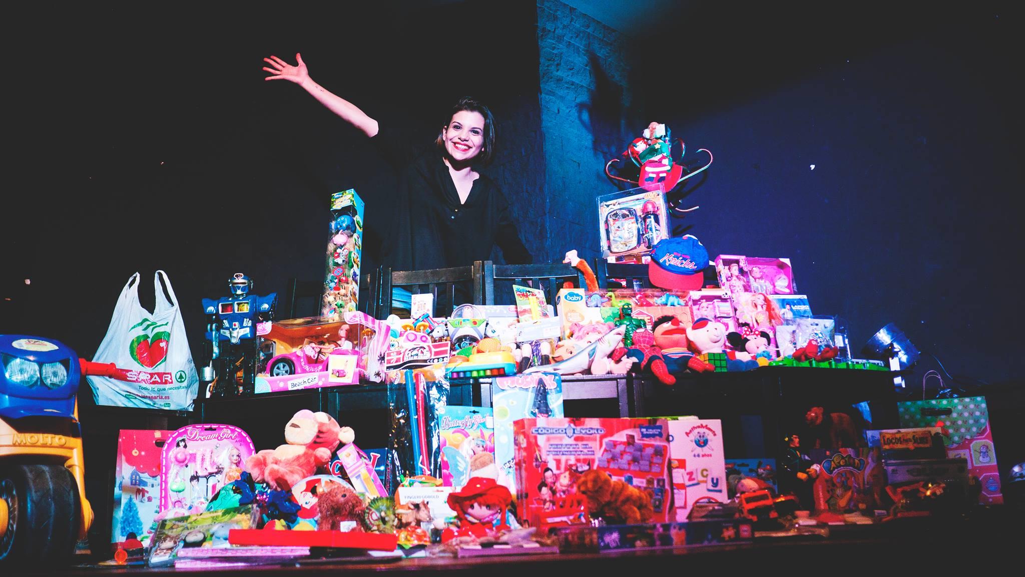 Recogida de juguetes de Magia y Arte