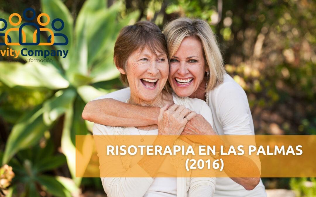 Risoterapia en Las Palmas, primer taller de 2016