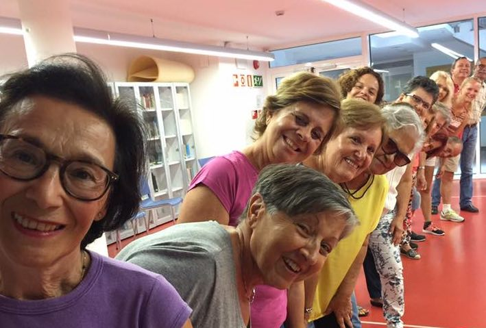 Taller de risoterapia para Fundación Mapfre Guanarteme